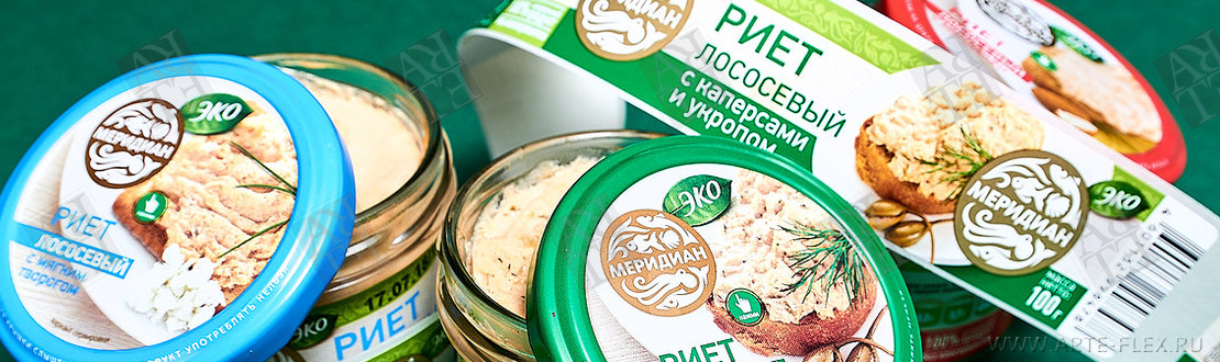 Printing of labels for canned food in Russia
